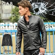 single riders jacket men gab george moi strike premiere leather single riders jacket pu leather jacket jacket blouson leatherette jacket