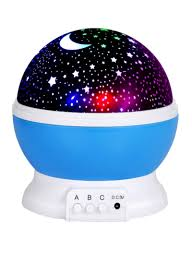 Outer Space Light Projector Shop Star Rotating Sky Cover Projector Led Light Blue White Black Online In Dubai Abu Dhabi And All Uae