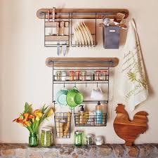 Kitchen Wall Racks And Storage Modular Kitchen Wall Storage Spice Rack With Cup Hooks World Market