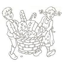 Kleurplaat Hans En Grietje Hans En Grietje Sprookjes