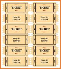 templates for raffle tickets in microsoft word raffle ticket templates sop proposal
