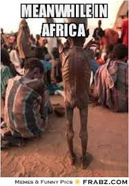 MEANWHILE IN AFRICA... - Meme Generator Captionator via Relatably.com