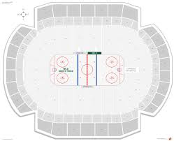 Mn Wild Seating Chart With Seat Numbers Minnesota Wild Seating Guide Xcel Energy Center