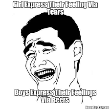 Girl Express Their Feeling Via Tears - Create Your Own Meme via Relatably.com