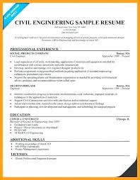 Civil Engineering Student Resume Mmventures Co
