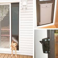 dog doors petsafe deluxe patio panels inside dog door for sliding glass door build a dog