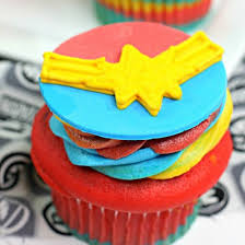 Captain Marvel Cupcakes Foodgawker