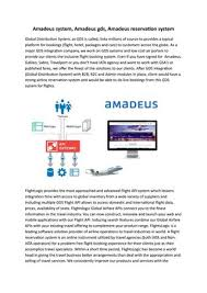 The company is structured around two areas: Amadeus System Amadeus Gds Amadeus Reservation System By Hross1342 Issuu