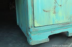 distressed painted diy furniture