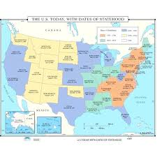 Large Us Map Poster Large Us Wall Map Covente Com