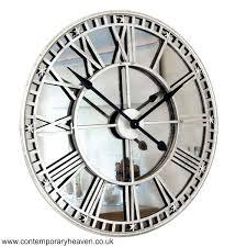 antiqued silver mirror iron roman