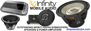 infinity 8 inch subwoofer. infinity high power, efficiency car and marine audio class a/b/d 8 inch subwoofer
