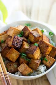 Drizzle with olive oil, and toss until evenly coated. Marinated Tofu The Best Tofu Ever Nora Cooks