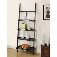 stair bookcase furniture. Amazon.com: Mintra Black Finish 5-Tier Ladder Book Shelf: Kitchen \u0026 Dining Stair Bookcase Furniture