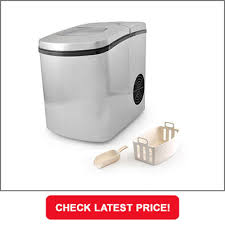 nutrichef electronic stainless steel countertop ice maker description