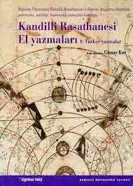Kandilli Rasathanesi El Yazmaları 1: Türkçe Yazmalar | B