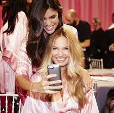 beauty tips and truths straight from victoria s secret angels and their hair and makeup pros glamour