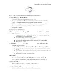 Customer Service Skills For Resume Inspiration Sample Of Resume For Customer Service Fascinating Customer Service R