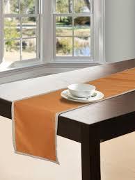 s9 home by seasons orange table runner