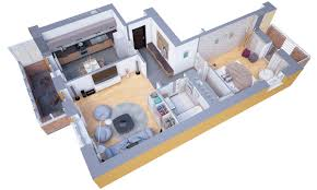 Small Apartment Floor Plans One Bedroom 40 More 1 Bedroom Home Floor Plans