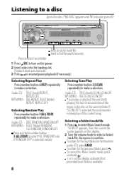 need wiring diagram for kenwood kdc 148 kenwood kdc 148 support instruction manual page 8