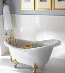 clawfoot tub and shower combo. uncategorized, deep bathtubs soaker tub shower combo classy polished gold clawfoot bathtub with built in and