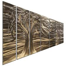 contemporary 7 panel metal wall art sculptures by ash carl home decor on modern metal wall art ebay with contemporary 7 panel metal wall art sculptures by ash carl home