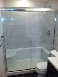 Tile Shower  Tub To Shower Conversion Bathroom Renovation - Bathroom shower renovation