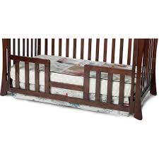 child craft toddler guard rail for parisian crib select cherry com