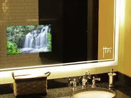 bathroom mirror beautiful design ideas mirror tv bathroom in harpsounds co with built screen behind glass