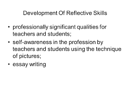 didactic pedagogical conditions of barriers overcoming in the   qualities for teachers and students self awareness in the profession by teachers and students using the technique of pictures essay writing