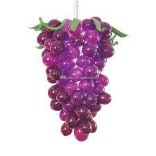 Großhandel Traubenform Mundgeblasenes Glas Kronleuchter Kostenloser Versand Flur Lila Farbige Glas Kronleuchter Decken Kristall Lampe Von Newartshow