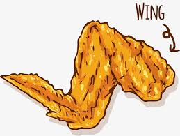 chicken wing clipart. Interesting Wing Fried Food Chicken Wings Full Of Wings Food Clipart Chicken  Wings Throughout Wing Clipart