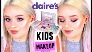 full face using only kids claire s makeup sophdoesnails