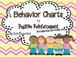 Positive Reinforcement Charts For Kids Behavior Charts For Positive Reinforcement