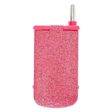 pink glitter cellphone makeup pact code 26556 adver claire s