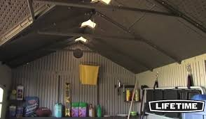 garden shed lighting. lifetime outdoor storage shed review garden lighting