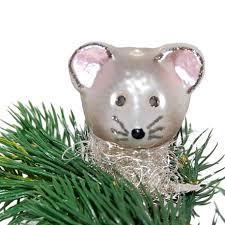 Maus Inge Glas Weihnachtsschmuck