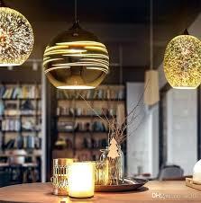 classic design led lamp pendant light diameter 15cm 3d colorful kitchen pendant lighting fixtures kitchen hanging