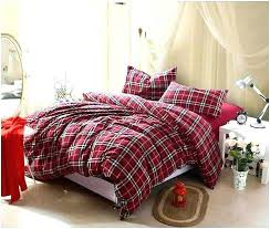 plaid duvet covers king s red plaid duvet covers king