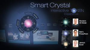 Smart Crystal Interactive Token 3d Presentation Beyond