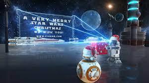 Create this amazing star wars christmas ...