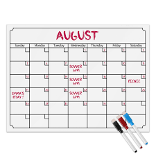 Monthly And Weekly Planners Us 9 5 38 Off 2018 Refrigerator Calendar Monthly Weekly Planner Note Wall Art Sticker Magnetic Calendar White Board Erase In Wall Stickers From Home