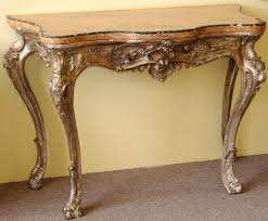 antique sofa table for sale. Furniture Carving Wood Table Legs Painted With Golden Color For Small Antique Console Orange Marble Top Sofa Sale S