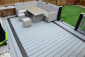 Composite deck ideas Design Ideas Composite Decking Ideas Available In Fantastic Colours Silver Grey Charcoal Black Ash And Brown Surface Finishes Narrow Groove Wide Groove And Nicholascjohnson Decking Dekka Composites
