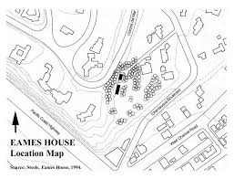 eames house cultural history map Map Plan For House www nps gov nhl designations samples ca eames pdf free map plan for house