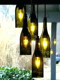 make a wine bottle chandelier kit how to beer without pottery barn