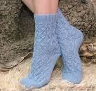 Схемы ажурного вязания спицами для носков
