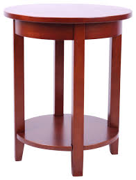 shaker cottage round accent table cherry