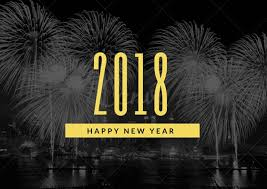 Znalezione obrazy dla zapytania happy new year 2018 gif black and white